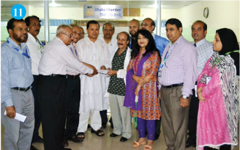 DIU donates Dialysis Machine to Kidney Foundation
