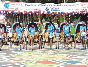 Dhaka Rickshaw Fiesta Week 2014